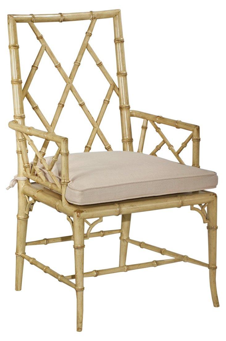 Owens Armchair, Ivory