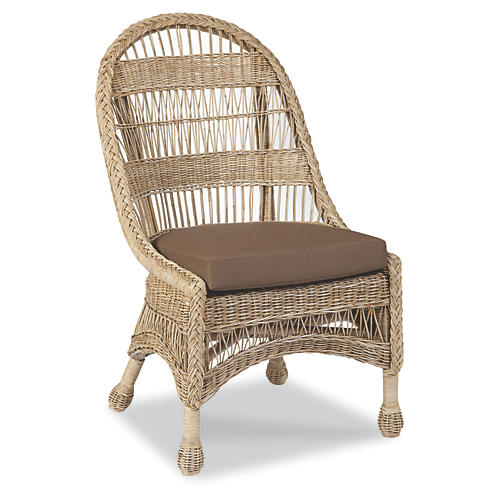 Know Accent Chair, Natural