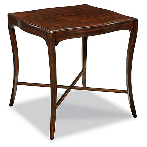 Rubley Side Table, Mahogany