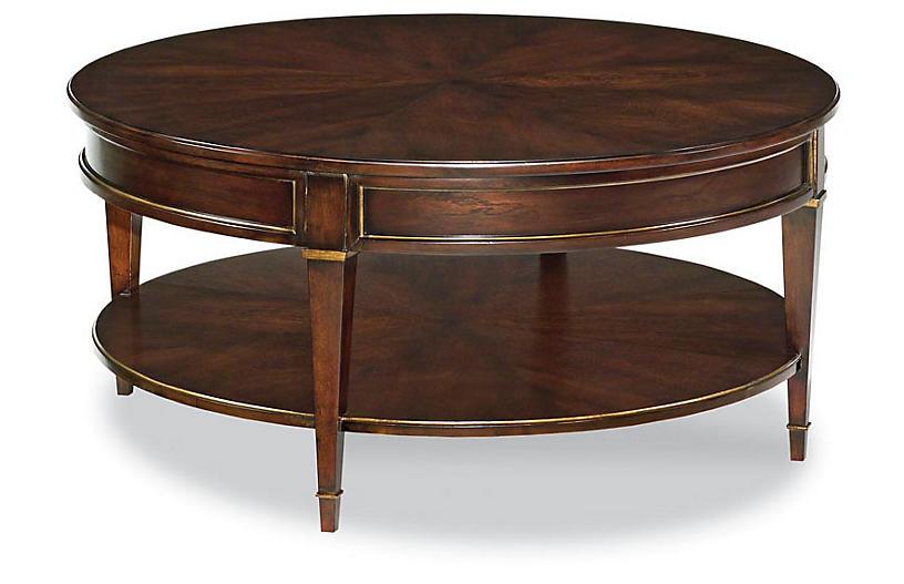 Luten Coffee Table, Mahogany