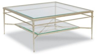 Tasca Coffee Table, Silver Leaf   Coffee Tables   Living Room   Furniture |  One Kings Lane