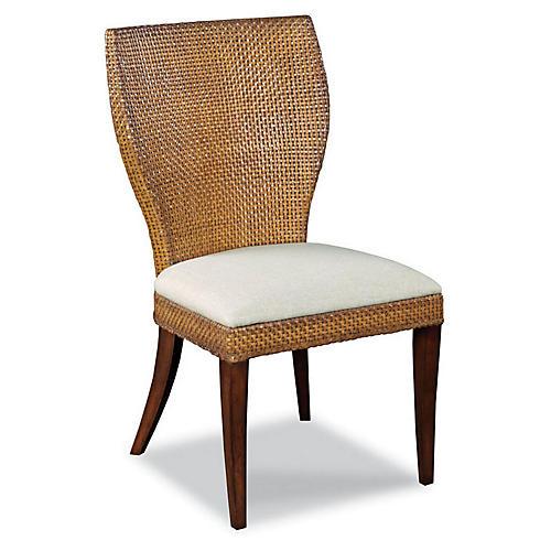 Ashba Side Chair, Umber