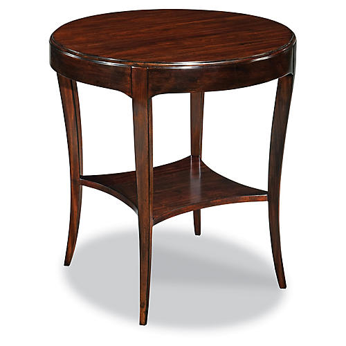 Abel Side Table, Mahogany