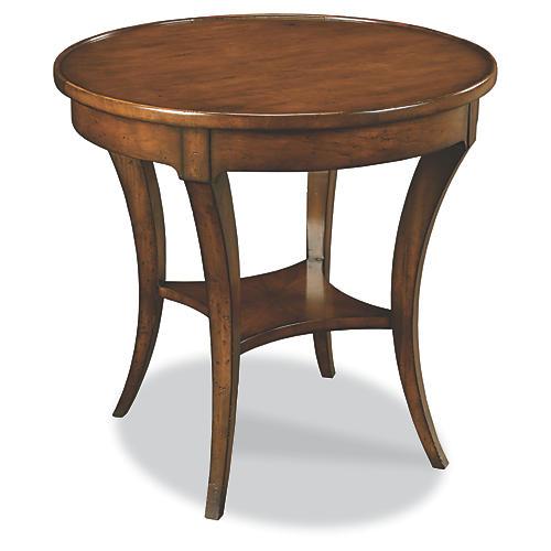 Renee Side Table, Mahogany