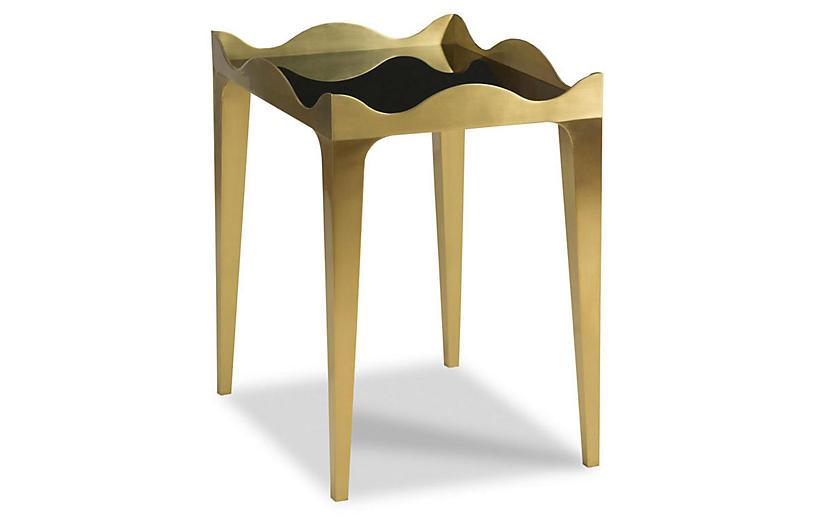 Ella Side Table, Gold
