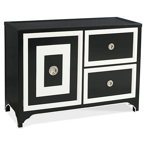 Blair Bar Cabinet, Black