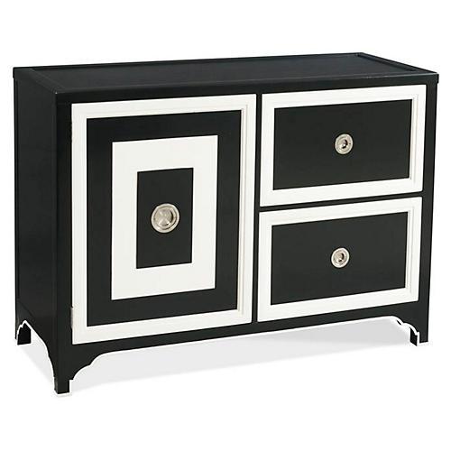Blair Bar Cabinet, Black