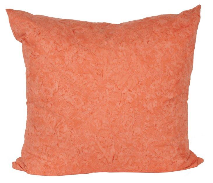 Coral Euro Pillow