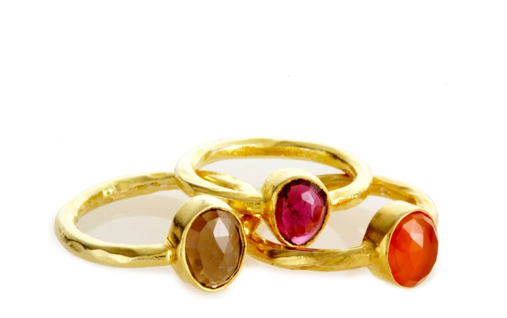 Stacking Rings, Colored