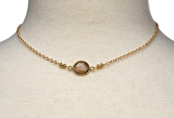 Shiva Necklace, Gold