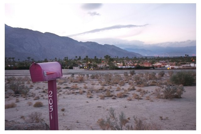 Patrick Cline, Palm Springs, By Land