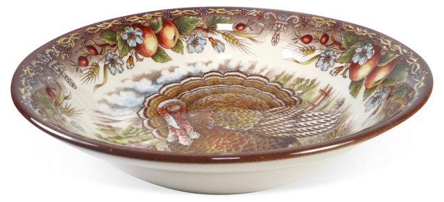 Turkey Open Serve Bowl
