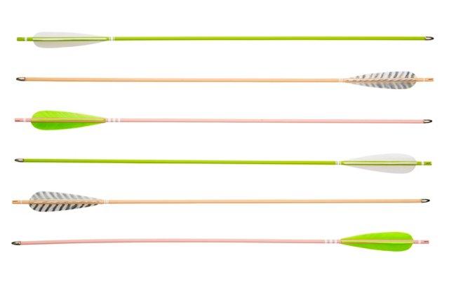 "28"" Sorbet Arrows, Asst. of 6"