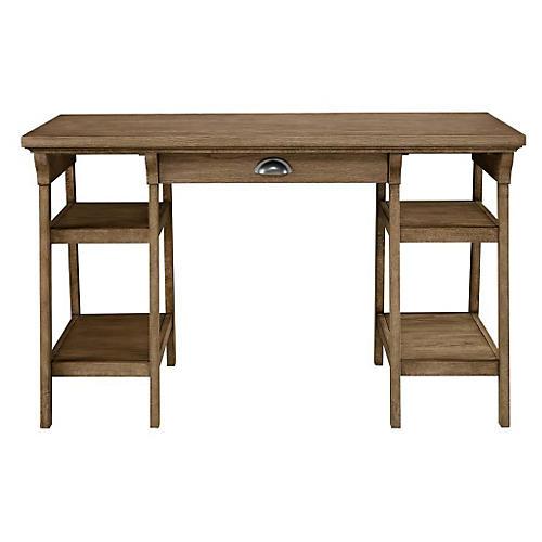 Driftwood Park Desk, Natural