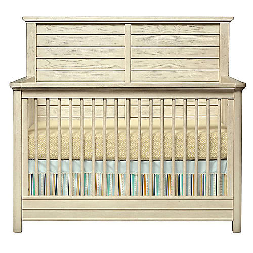 Driftwood Park Crib, Whitewash