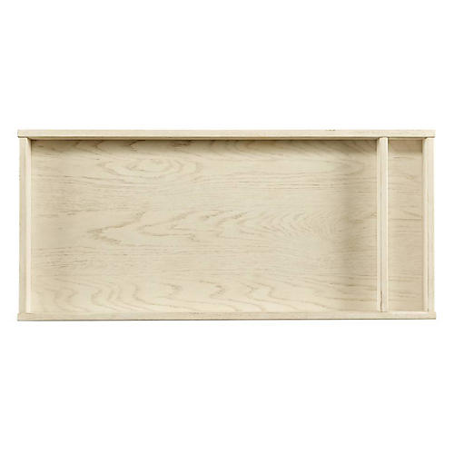 Driftwood Park Changing Topper, Vanilla