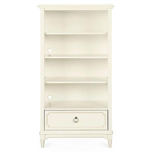 Clementine Court Bookcase, White