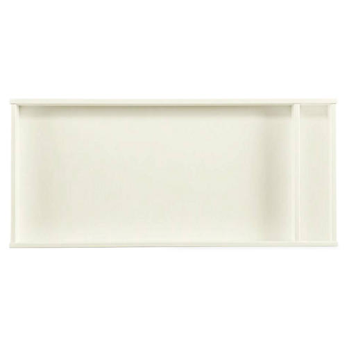 Clementine Changing Topper, White