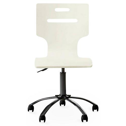 Clementine Desk Chair, White