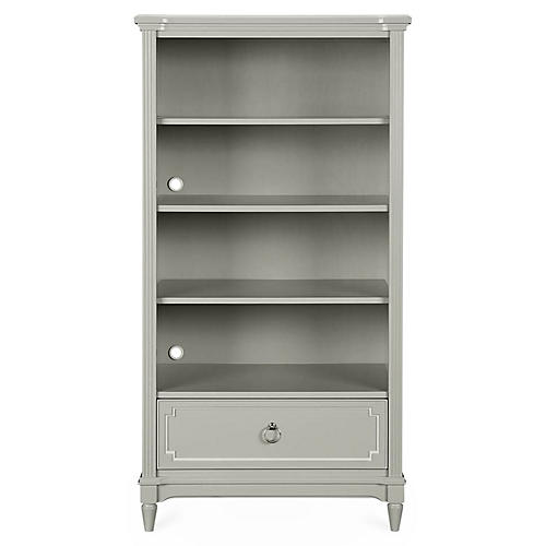 Clementine Court Bookcase, Gray