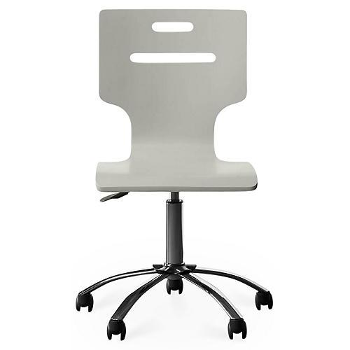 Clementine Court Desk Chair, Gray