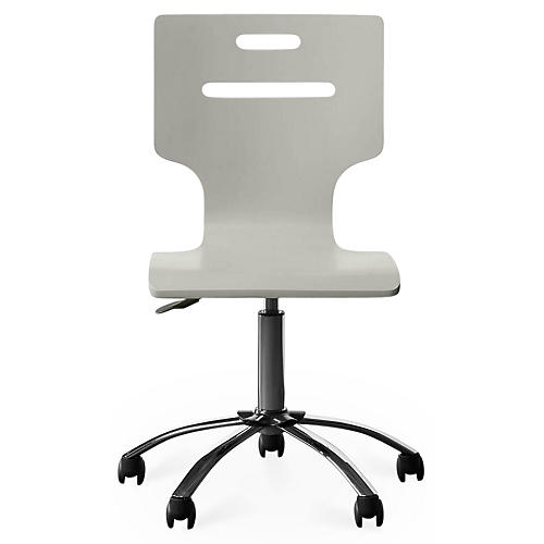 Clementine Court Desk Chair, Gray