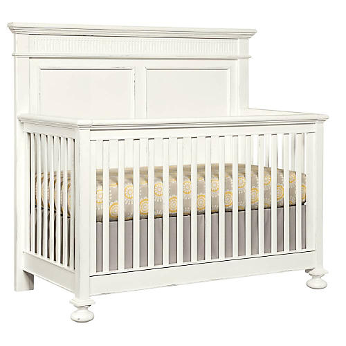 Smiling Hill Convertible Crib, Chalk