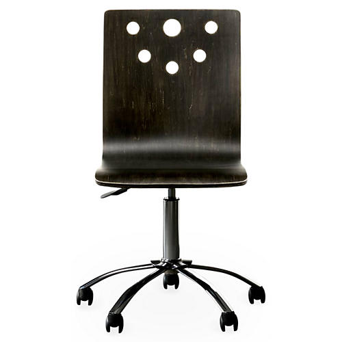 Smiling Hill Desk Chair, Java