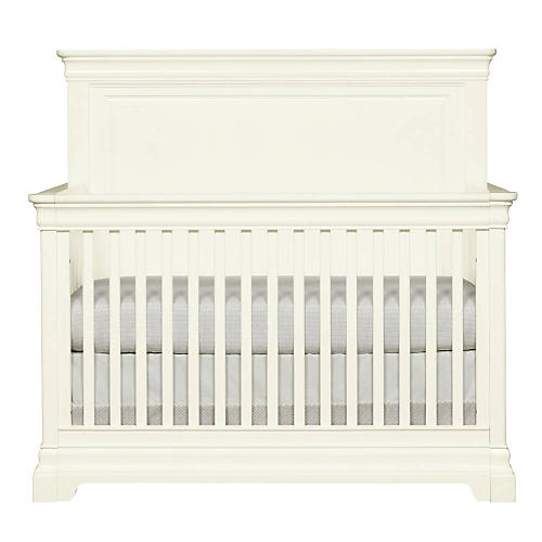 Teaberry Lane Convertible Crib, Stardust White