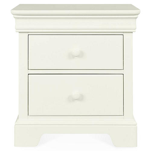 Teaberry Lane Nightstand, Stardust White