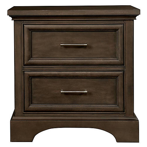 Chelsea Square Nightstand, Brown