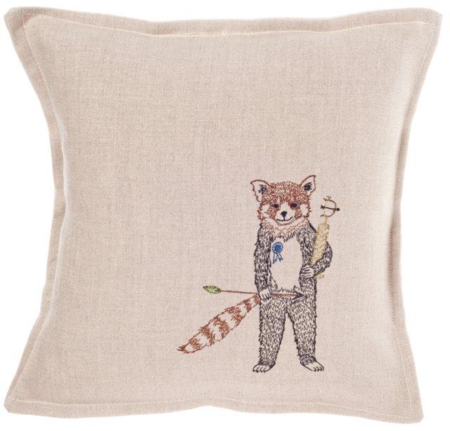 Red Panda Champ Pillow