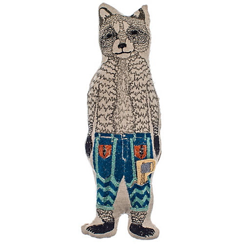 Raccoon Pocket Doll