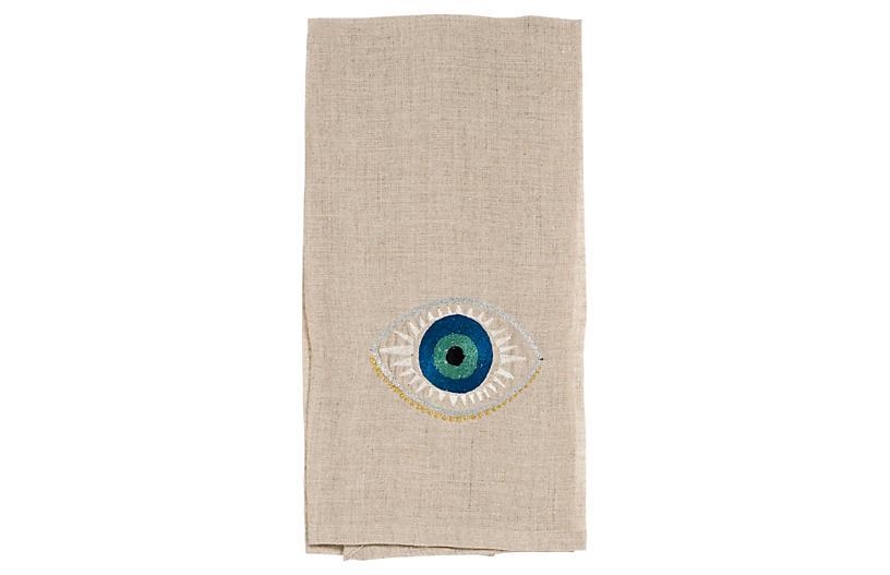 Evil Eye Tea Towel