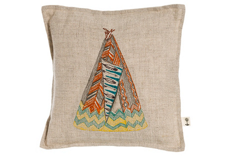 Home 7x7 Treasure Pillow