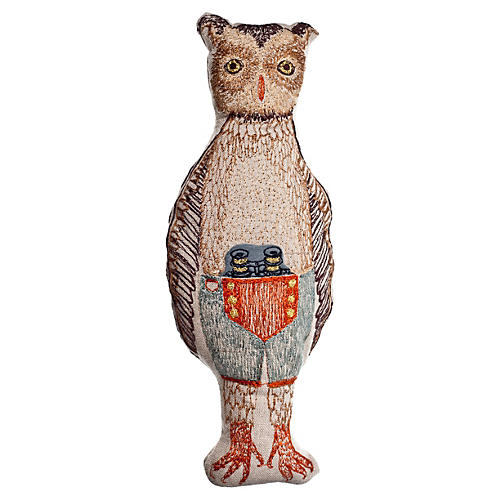 Owl Pocket Doll
