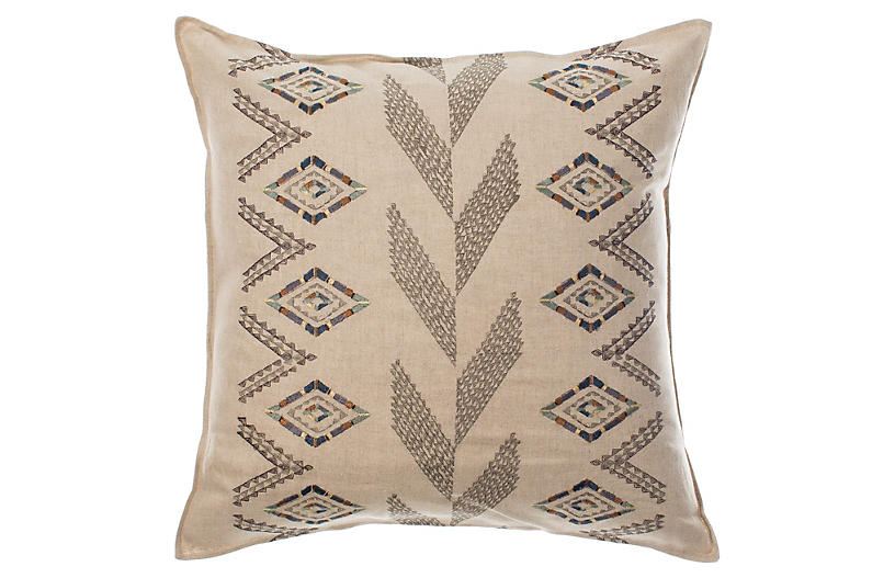 Herringbone Diamond 20x20 Pillow