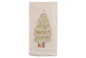 Peek-A-Tree Tea Towel*