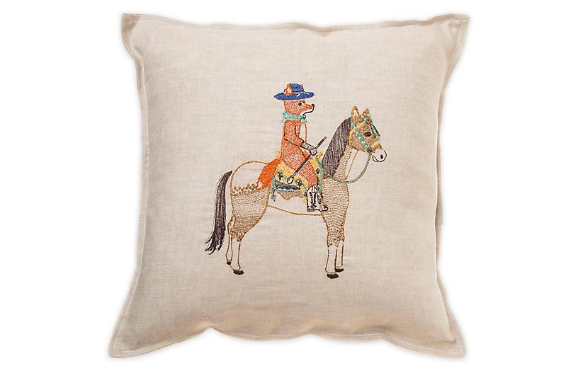 Scouter 16x16 Linen Pillow