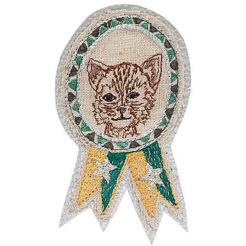 Cat Badge Pin