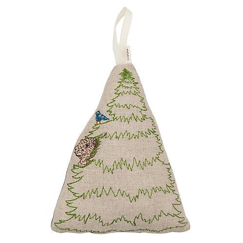 "5"" Prairie Tree Dog Ornament, Natural"