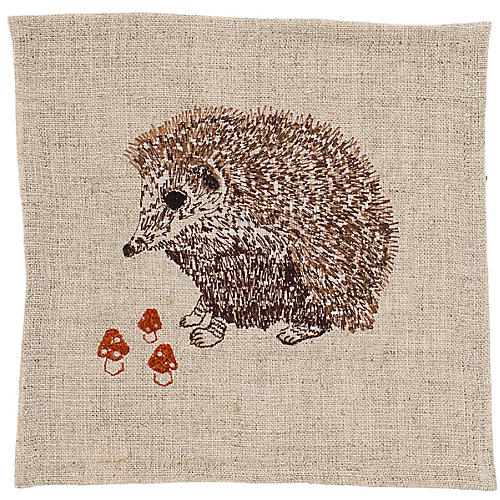 Hedgehog Cocktail Napkin