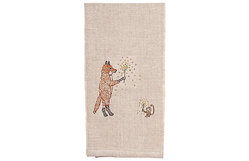 Sparklers Tea Towel