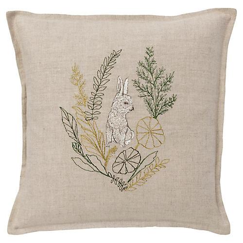 Bunny 12x12 Pillow