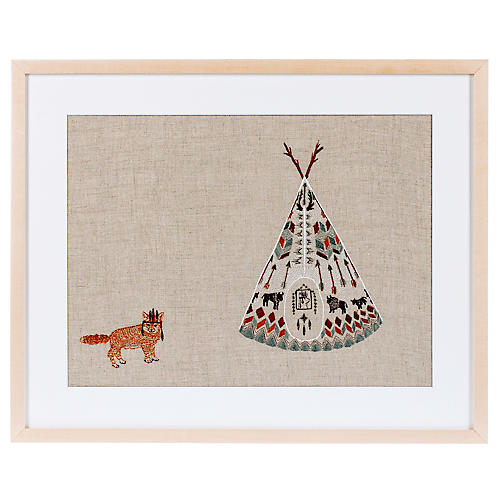 Tipi and Fox