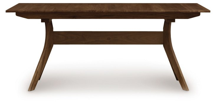 "36""-66"" Audrey Extension Table, Walnut"
