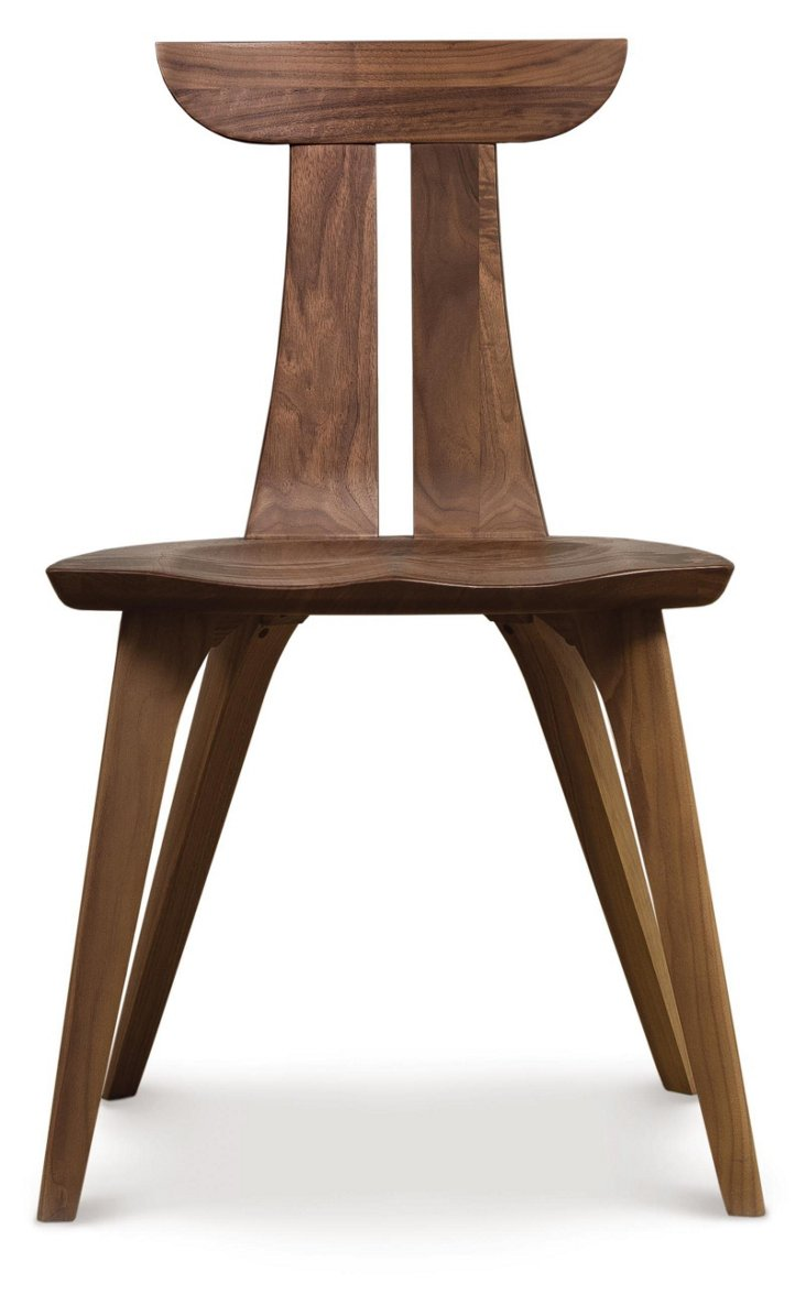 Estelle Dining Chair, Walnut