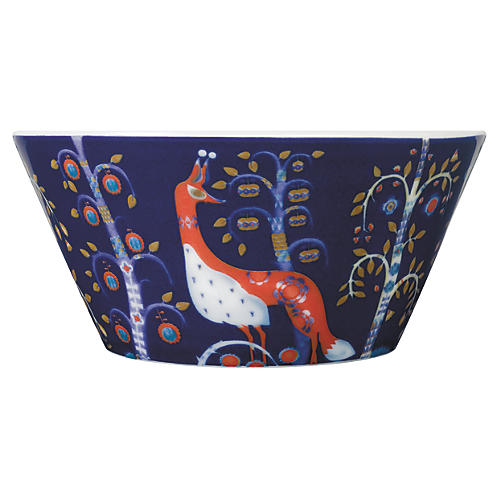Taika Pasta Bowl, Blue/Multi