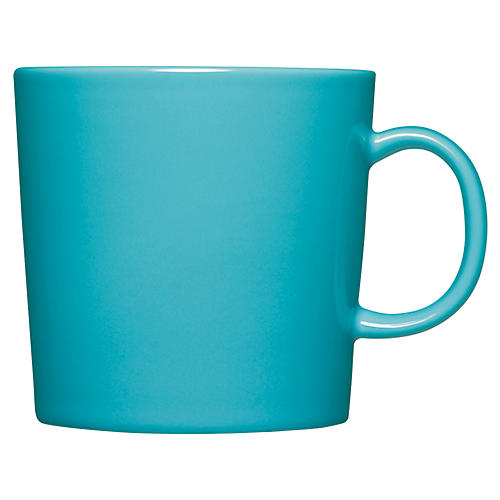 Teema 13.75 Oz Mug, Turquoise
