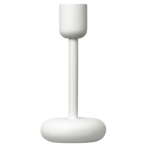 "7"" Nappula Candleholder, White"